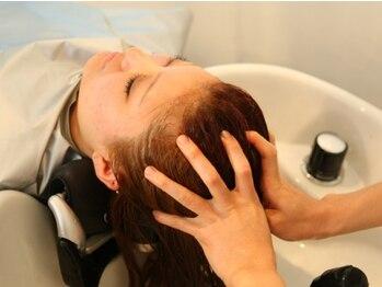 """ヘアーズアビリティー(HAIR'S ability)の写真/[阪神西宮/駐車場有]フルフラットで""""眠れるオーガニック・クリームスパ""""香りに包まれながら癒しの時間を♪"""