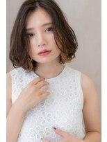 □イヤリングカラーゆるふわルーズヘア116-2★上尾10代20代30代