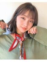 ガーデン ハラジュク(GARDEN harajuku)【鈴木ゆうすけ】ヘルシーボブ × シースルーバング
