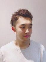 ファムヘアー 新小岩(fam hair)パーマ風アップバング/クセ毛【famhair新小岩:寺岡】