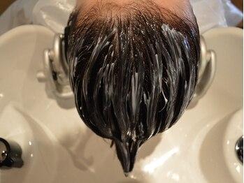 プラーチェ 青葉台の写真/【駅から徒歩3分】完全個室で極上スパ!髪の悩みに合わせ複数の薬剤から選択!オーガニックの力で髪をRelax!