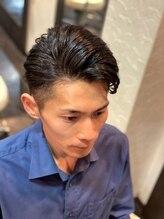 オムヘアーツー (HOMME HAIR 2)#ビジネスカジュアル#サイドパート#hommehair2nd櫻井