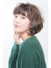 ヘアーアンドメイク アズール 志木南口店(Hair&Make Azur){Azur} グレージュ シースルーボブ