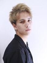 アルバム シンジュク(ALBUM SHINJUKU)ワイルドアップバングラフアンニュイモヒカンショート_35767