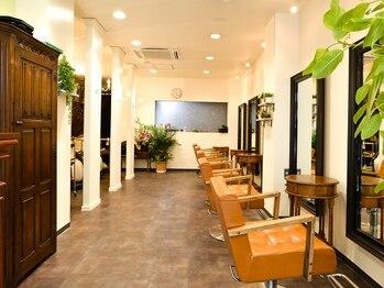 ヘアーガーデン オーパスリンク 池袋(hair garden Opus Link)の写真/【お客様一人ひとりと向き合い、おもてなす】大人に選ばれるプライベートサロンで上質なサロンタイムを♪