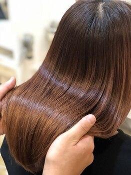 ステラ 嵯峨店(stella)の写真/【髪質改善トリートメント】で髪内部から徹底補修!それぞれのダメージに合わせてピッタリのものをご提案★