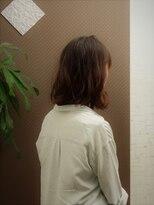 美容室 ボヌール【ボヌール】 ナチュラルウェーブ×ボブ 【オーガニック】
