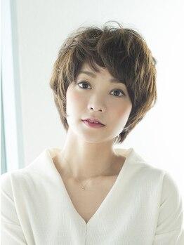 ヘアーアンドメイク リコ(hair and make LIKO)の写真/いつもよりも『キレイ・かわいい・カッコイイ』スタイルに!こだわりの前髪や、サイドのラインまで綺麗に♪