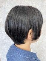シュガービー(SUGAR-B)【SUGAR-B】自然な丸みのでる黒髪ショート