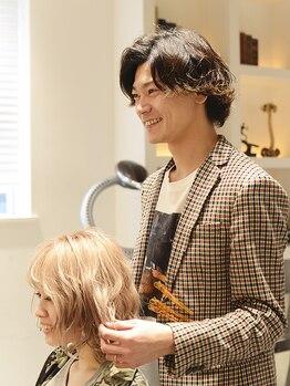 """パイレーツ(Pirates Ushiwakamaru Style)の写真/初めての方もリピーターの方もまずはしっかりとカウンセリング◎お客様の""""なりたい""""をしっかりと形に☆"""