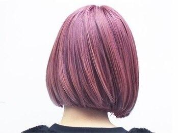 ヘアーサロンボニータス(Hair Salon Bonitas)の写真/大人可愛いデザインカラーや、ダメージレスで透明感抜群のダブルカラーで遊びゴコロのあるstyleに♪
