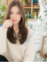 ■オリーブアッシュ小顔ロングレイヤー106-6★上尾20代30代40代