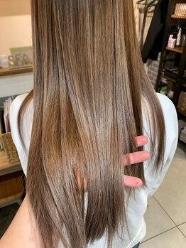 ヘアーアンドライフスタイル ルカヒ(Hair Life style LUKAHI)の写真/髪の状態を見極めながら1人1人に最適なケアを提案◎内部修復型トリートメントで髪の芯から美しく♪