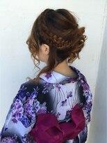 ビューティーコレクション 静岡北店浴衣に似合うヘアセット