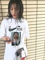 ソーイ(sowi)7トーン以下暗髪カラー+CUT【@sowi_abe】