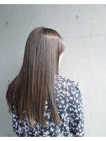 グランツヘアー(Glanz hair)外国人風スモーキーマットカラー