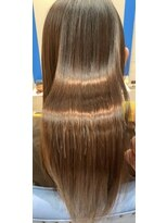 スローライフヘアーデザインアンドスパラウンジ(Slow life Hair design spa lounge)潤ツヤロング 高濃度水素質感矯正ミネコラ