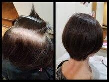 50代以上のお客様必見の第4のカラー☆『染める度に髪と頭皮が良くなる』ハリ、コシ、ツヤがでる白髪染め♪
