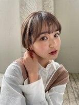 ジョエミバイアンアミ(joemi by Un ami)【joemi 】大人丸みナチュラルショートボブ(小倉太郎)