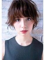 ボニークチュール(BONNY COUTURE)大人可愛い外国人風・くせ毛ショートボブ40代・ショートボブ神戸