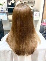 ナナナパレナ 梅田店(nanana parena)うるツヤ*髪質改善専門サロンの縮毛矯正で圧巻の艶髪ストレート