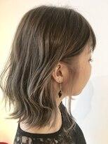 フレイムスヘアデザイン(FRAMES hair design)ボブディ×インナーカラー×波ウェーブ