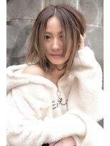 ヘアーサロン エール 原宿(hair salon ailes)(ailes原宿)style420 無造作カール☆ラフカジミディ