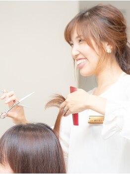 """キングスベリー(Hair Relaxation King's Berry)の写真/髪のプロが提供する最旬似合わせスタイル☆""""King's Berry""""なら今までで一番可愛い自分になれる♪"""