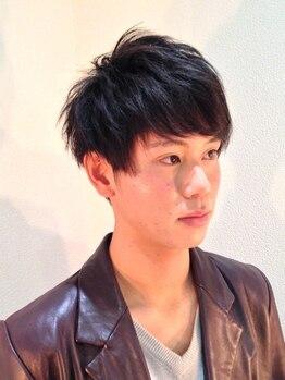 ヘアーアンドメイク リコ(hair and make LIKO)の写真/一人ひとりのライフスタイルに合わせたカット!いつもよりちょっとオシャレに☆メンズコースもあります!