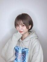 ヘアークリニック ラクシア 石巻(Hair Clinic LAXIA Ishinomaki)モテショートボブ