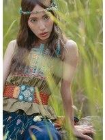 オゥルージュミュゼ(Aurouge)【aurouge musee 伊藤瑛未里】ヒッピー風センター分けウエーブ