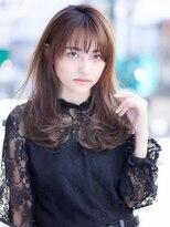 アンド ストーリーズ 表参道(&STORIES)25歳からの【デザインカラー /セミロング /レイヤー】