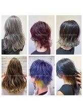 デザインカラー×通うたびに髪がキレイになる髪質改善ケアサロン♪