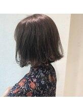 リム ヘアー(Rim hair)グレージュボブ