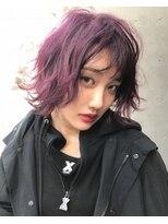 ジーナ(XENA)個性派ピンクパープル