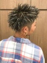 【Cogic】men's★2ブロック ツイスト ハイライトメッシュ