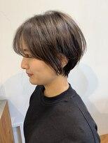 ヴィー 銀座二丁目(VIE)【VIE/涼佳】耳掛けショート☆ふんわり前髪