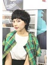 クリフ ヘアーアンドワークス(CLeF hair&works)大人マッシュウルフ(CLeF 恵比寿)