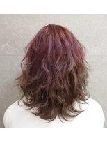 Shadow × Dark violet 2way G.(H)