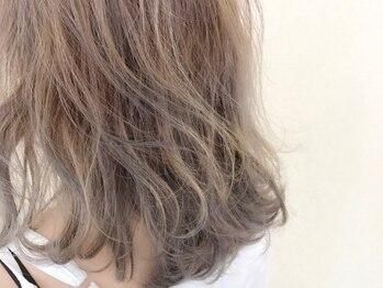 ワヴ ヘアー(WUV HAIR)の写真/柔らかく透明感ある色が大人気!思わず触れたくなるような質感とツヤにリピーター続出です♪