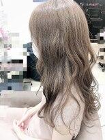 ベイジヘアークチュール(BEIGE hair couture)ミルクティーグレージュ ロング