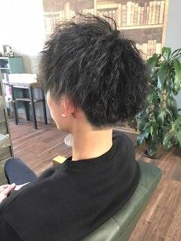 ヘアーデザイン ディードット(Hair design D.)の写真/《表参道の技術を宇都宮で》絶妙なメンズカットやツイストスパイラルパーマでワンランク上のstyleへ【D.】