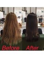オハナヘアー(ohana hair)髪質改善、一回目!