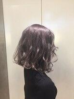 ヘアサロン ドット トウキョウ カラー 町田店(hair salon dot. tokyo color)【lavender grege11】ダブルカラーカラーリスト田中【町田】