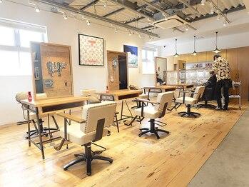パイレーツ(Pirates Ushiwakamaru Style)の写真/【口コミ★5つ多数!!】西海岸のカフェをテーマに洗練されたオシャレ空間で心も見た目も磨かれる時間―*.+