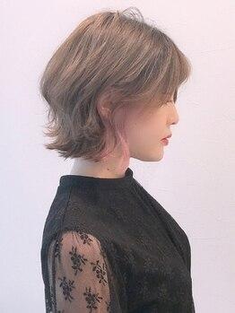 エンリッチヘア(enrich hair)の写真/トレンドカラー、外国人風カラー、さりげないデザインカラーまで何でもお任せ☆イメージ通りの仕上がりに♪