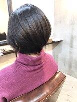エトネ ヘアーサロン 仙台駅前(eTONe hair salon)小顔ショートボブ