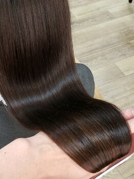"""ブルーフィンシセロ(Blue Fin cicero)の写真/オリジナルケアにて""""髪を内部からキレイへ導けるヘアエステ""""で宝石髪へ。。。"""