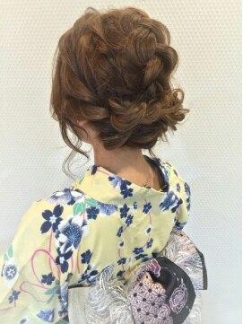 浴衣に似合う髪型アレンジ ♪花火大会スタイル♪