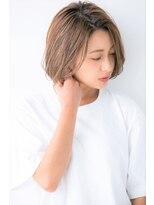 ユーフォリアギンザ(Euphoria GINZA)【Euphoria銀座】3Dカラー 小顔 エッジショートボブ 担当 畑